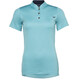 Triple2 SWET Merino - Maillot manches courtes Femme - turquoise